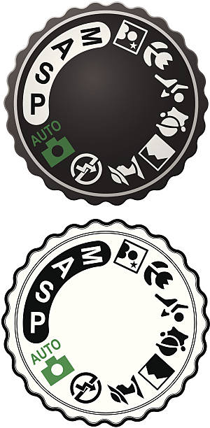 Picture Selection Dial vector art illustration