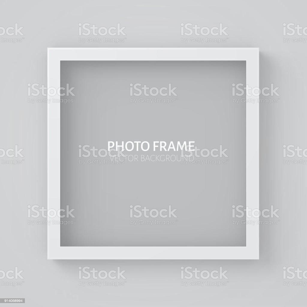 3d Bild Quadratischen Rahmendesign Stock Vektor Art und mehr Bilder ...