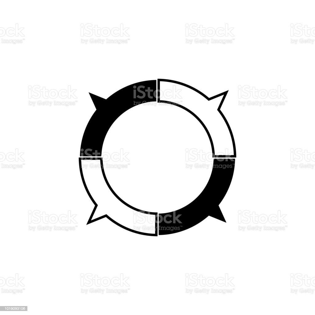 pie chart icon trend diagram element icon business analytics concept Diagram of VDI Environment pie chart icon trend diagram element icon business analytics concept design icon signs