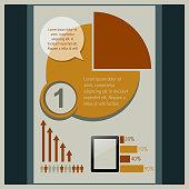 pie infographic design
