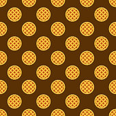 Pie Seamless Pattern