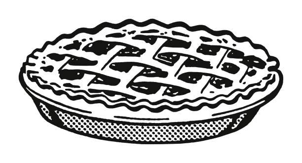 pie - pie stock illustrations, clip art, cartoons, & icons