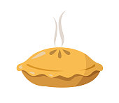 istock pie vector illustration on white background 1215632725