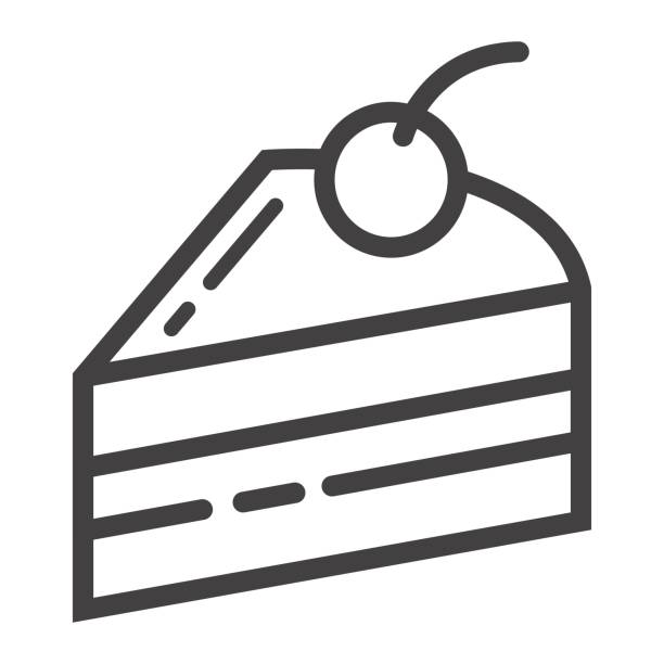 Black and White Cake Slice | Clipart Panda - Free Clipart ...  |Cake Slice Clipart Black And White