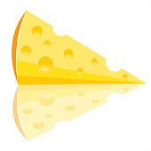 Piece of the cheese