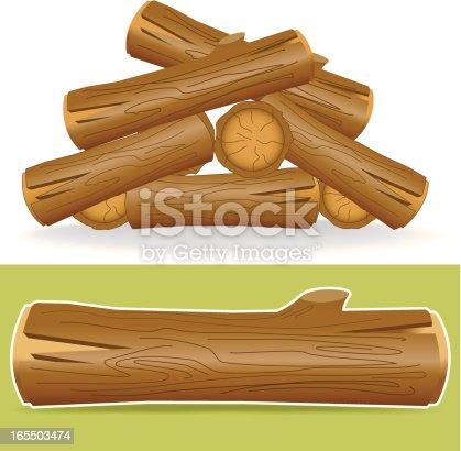 istock Piece of wood 165503474