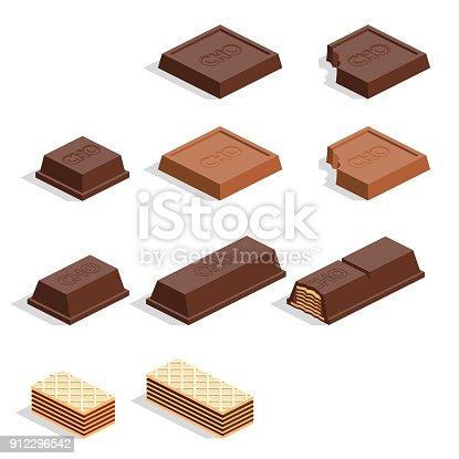 istock pieces of chocolate 912296542