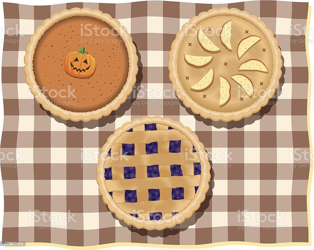 Pies C vector art illustration