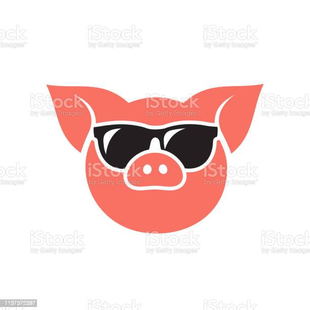 Pig head wearing sunglasses icon vector illustration vector id1137372397?b=1&k=6&m=1137372397&s=612x612&h=bmyrwjupkzl5zxauusdzmtghc3yhqyd1nvr2qnjcw1w=