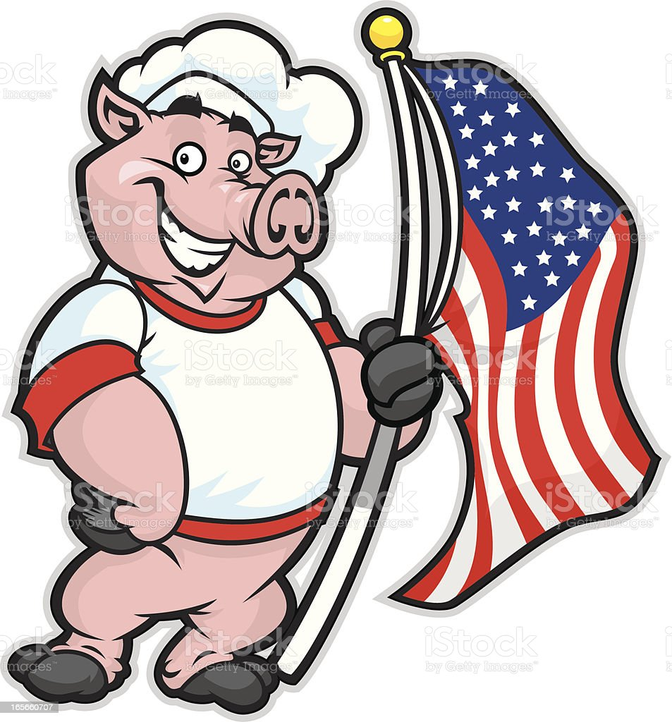 Bbq Pig Illustration Stock Illustration - Download Image ... (953 x 1024 Pixel)