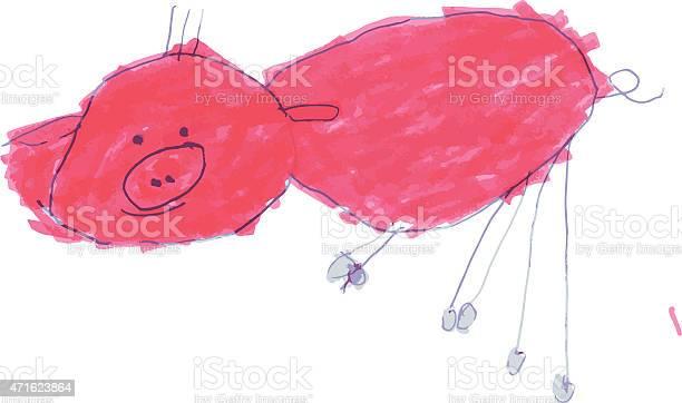 Pig kids drawing vector id471623864?b=1&k=6&m=471623864&s=612x612&h=ox ywmfhkvcfs 3t fh3ssnako tqdo  vuqxx3msoi=