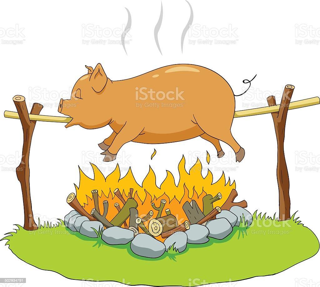 豚の丸焼き アイデアのベクターアート素材や画像を多数ご用意 Istock