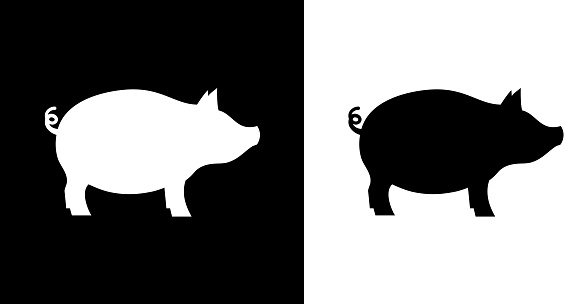 Pig Stock Illustration - Download Image Now