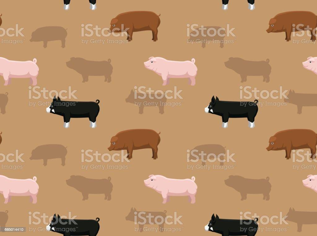 Schweinwallpaper 1 Stock Vektor Art Und Mehr Bilder Von