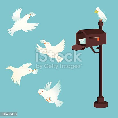 istock Pigeon post 96418413