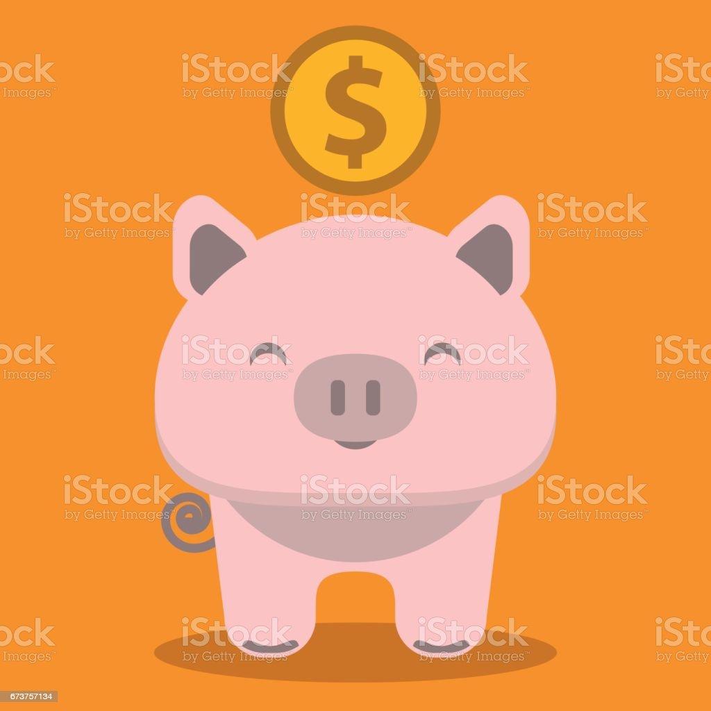 Icône de la tirelire - Illustration icône de la tirelire illustration – cliparts vectoriels et plus d'images de activité bancaire libre de droits