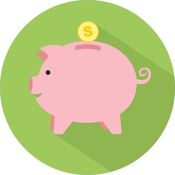 Best Piggy Bank Illustrations, Royalty-Free Vector ...