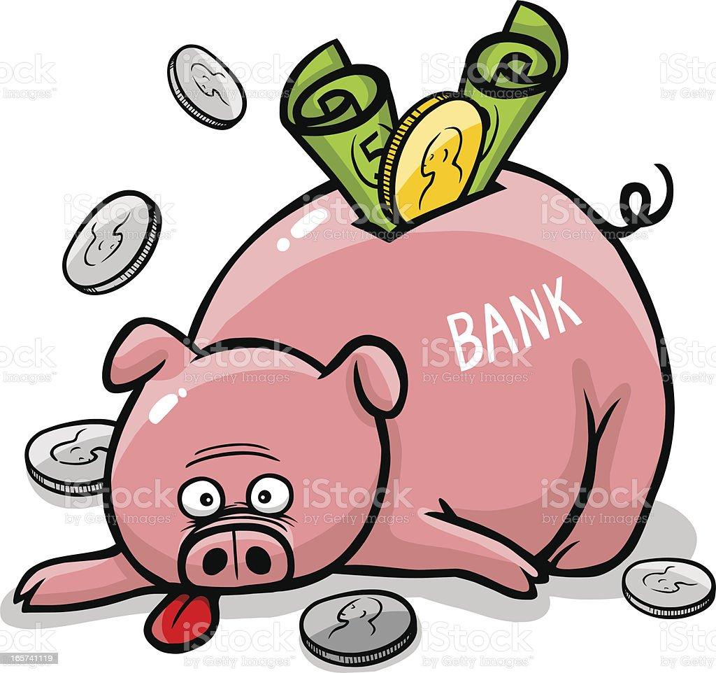 royalty free stuffed piggy bank clip art vector images rh istockphoto com piggy bank clip art for free piggy bank clipart images