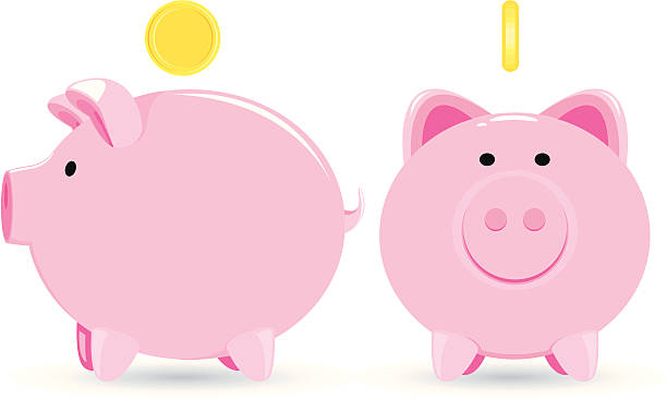 piggy bank vector file of piggy bank piggy bank stock illustrations