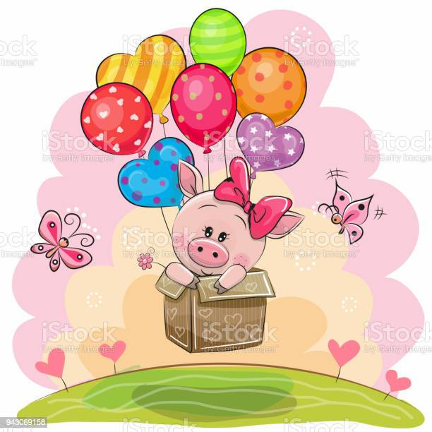 Piggy girl in the box is flying on balloons vector id943069158?b=1&k=6&m=943069158&s=612x612&h=nmu9irhxtbjhsmqt4n1kc6wf5d70fdhfg7dcpndt9 i=