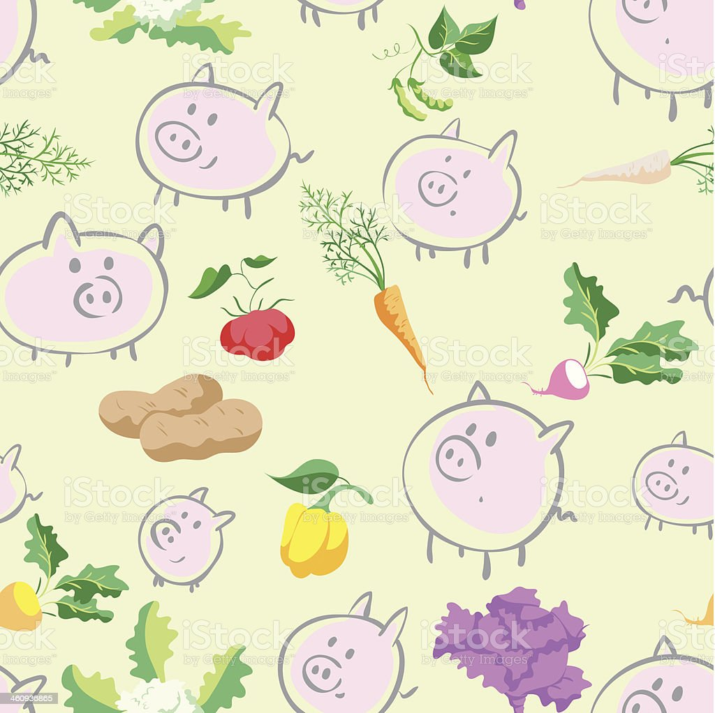 Pigs royalty-free pigs stock vector art & more images of animal