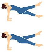Pilates Icon Vector