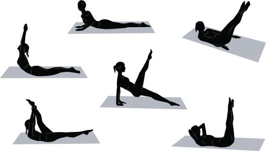 Pilates positions
