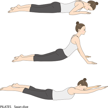 Pilates Sequence, Swan Dive