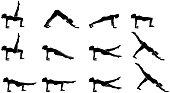 Pilates Sport Vector