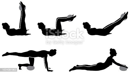 Pilates Woman Figure