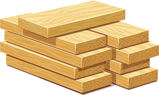 Royalty free lumber clip art vector images