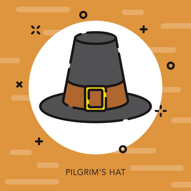 Pilgrim Hat Illustrations, Royalty-Free Vector Graphics ...