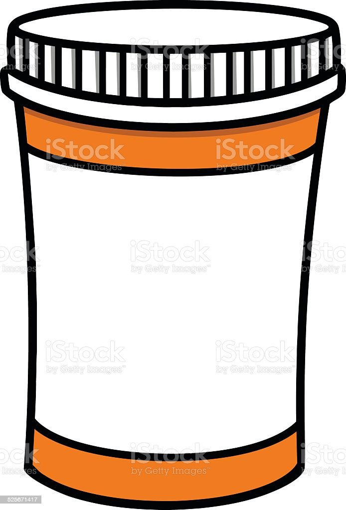 Pill Bottle Symbol Stock Vector Art & More Images of ...