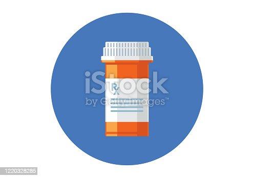 istock Pill Bottle 1220328285