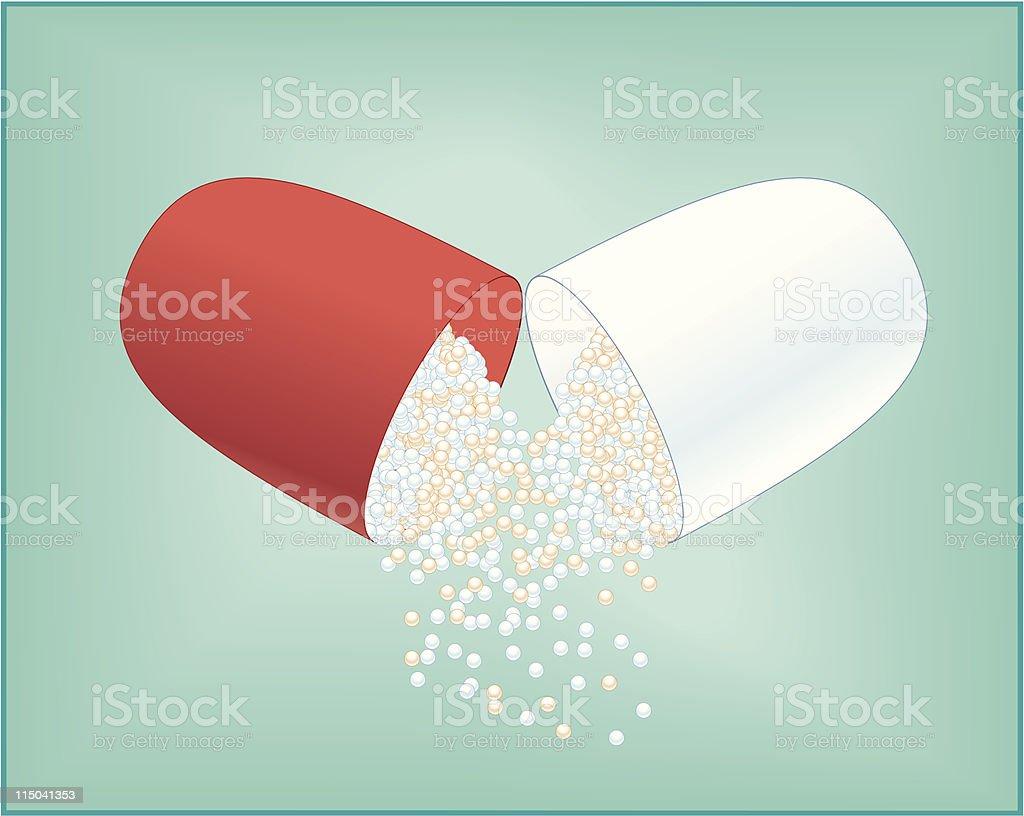 Pill, Capsule royalty-free stock vector art