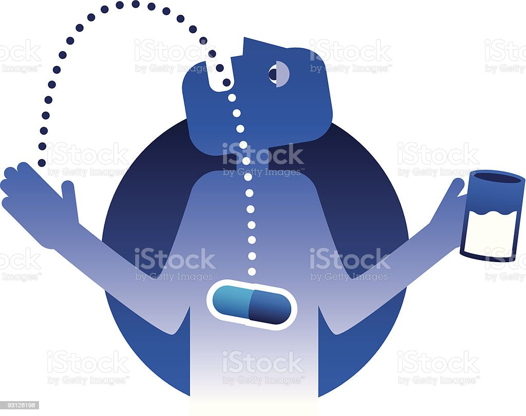 Pill Popper royalty-free pill popper stock vector art & more images of addiction