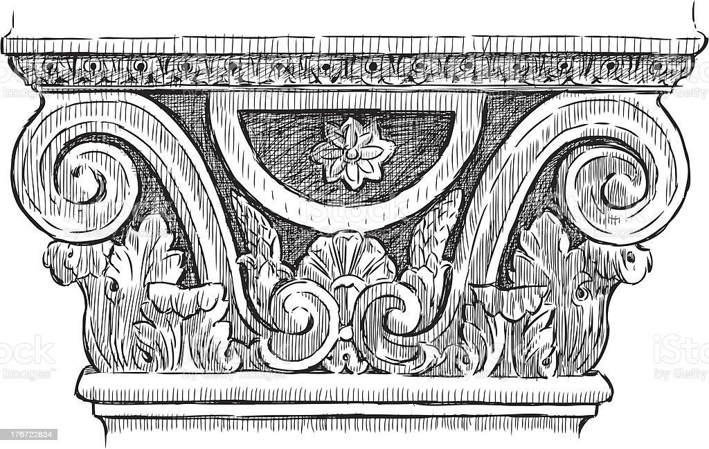 pillar royalty-free pillar stock vector art & more images of ancient