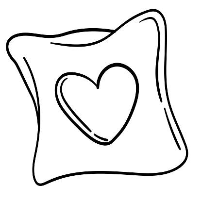 Pillow 2 bw