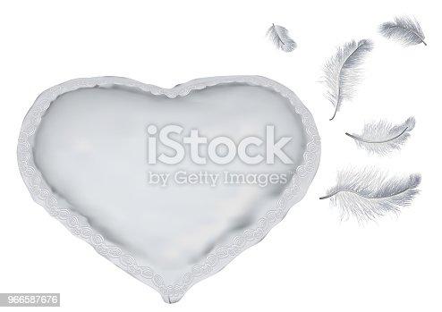 pillow as heart