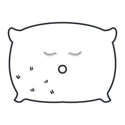 pillow bed kawaii character