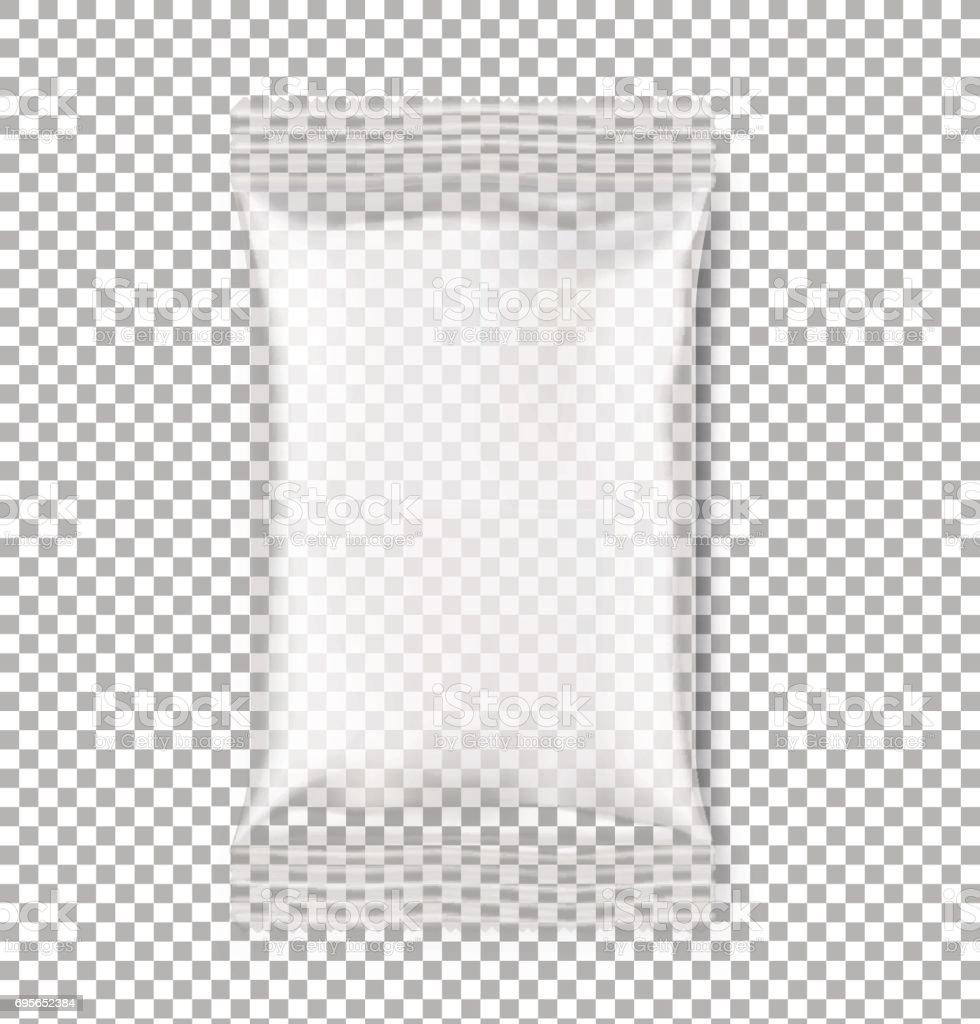 枕流パック透明背景にリアルな影 のイラスト素材 695652384 | istock