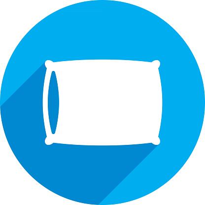 Pillow Icon Silhouette