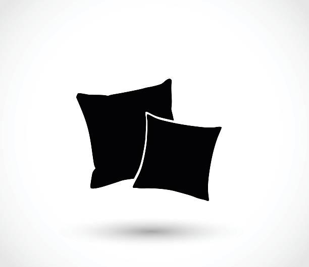 Pillow icon vector illustration vector art illustration