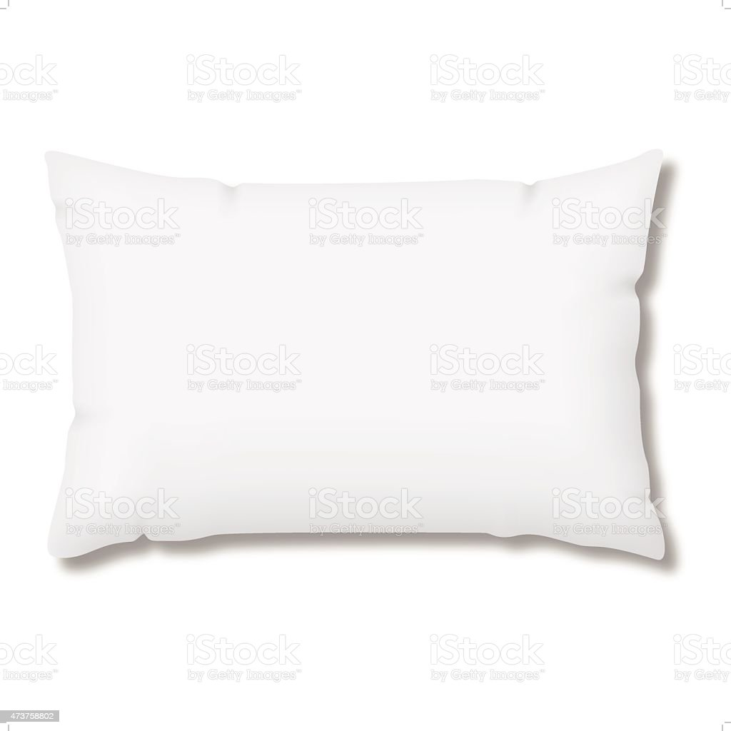 pillow vector art illustration