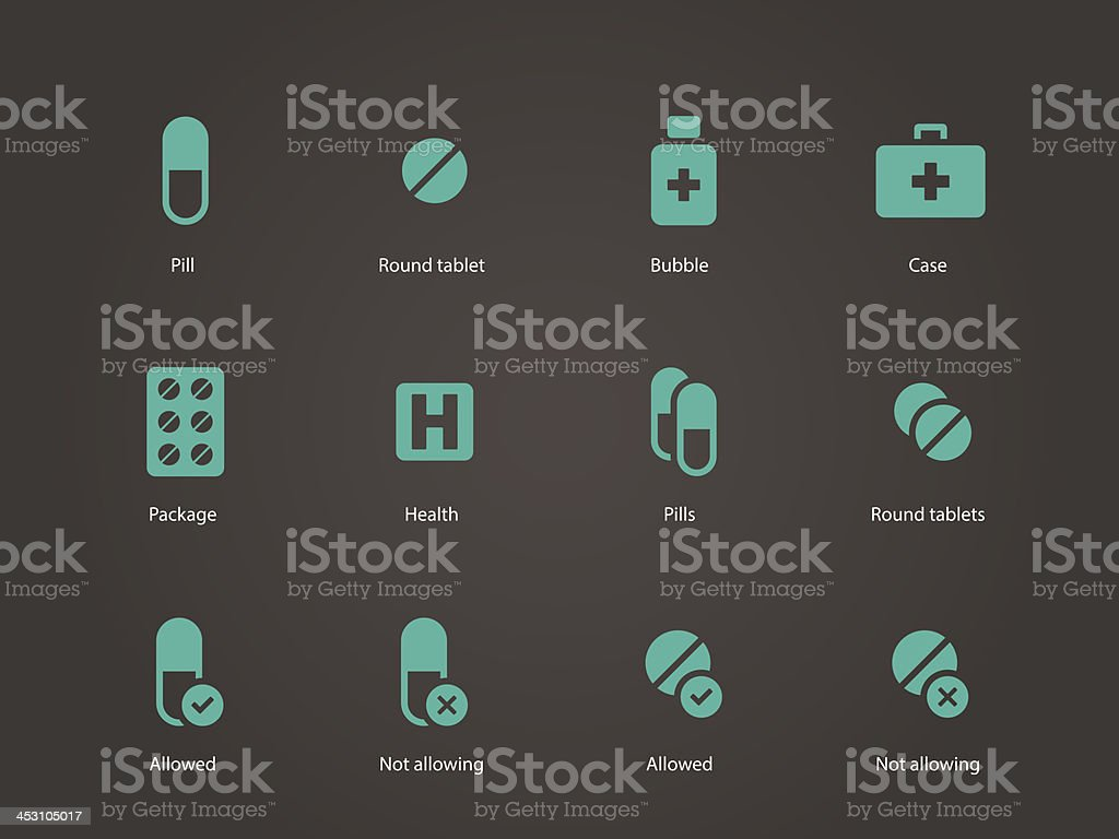 Pills and capsules icons. royalty-free pills and capsules icons stock vector art & more images of aspirin