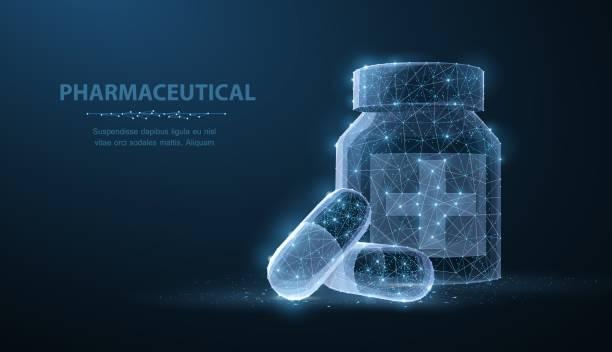 illustrazioni stock, clip art, cartoni animati e icone di tendenza di pillole. - farmacia