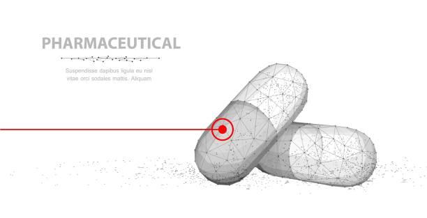 Pills. vector art illustration