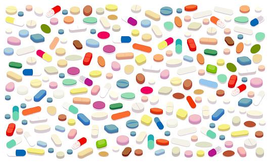 Pills vector illustration