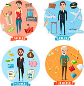 Pilot and manager, jeweler and seller