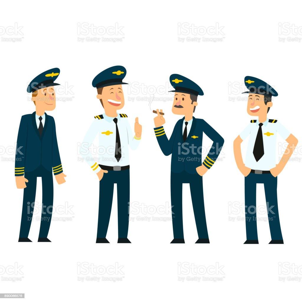 pilots in uniform.